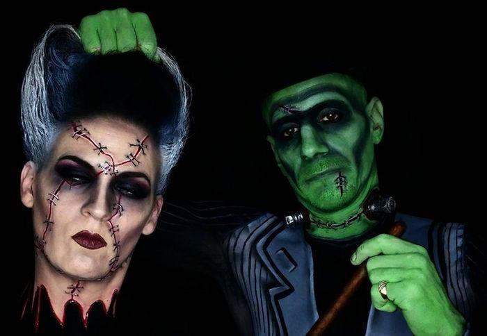 Грим для Хэллоуина (22 фото)