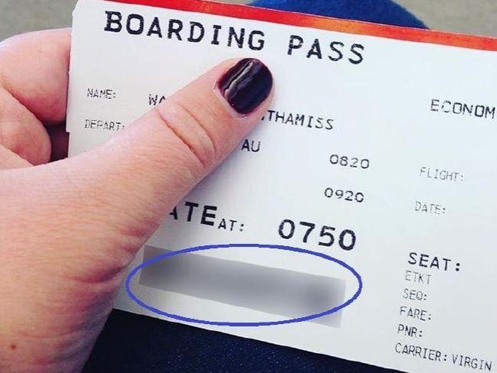 Почему не стоит публиковать фото своего авиабилета (7 фото + текст)