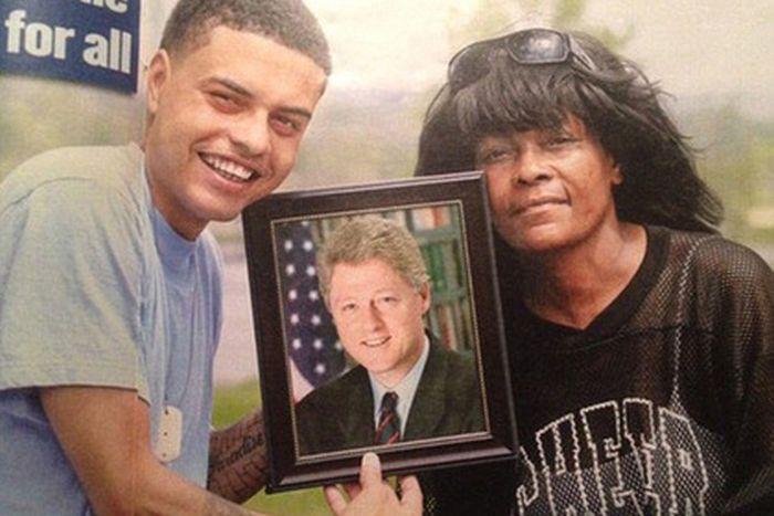 30-летний американец уверяет, что он внебрачный сын Билла Клинтона (3 фото)