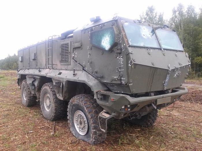 Новый бронемобиль К63968 «Тайфун-К» успешно прошел испытания (3 фото)