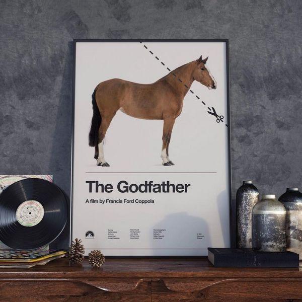 Австралийский художник ежедневно рисует постер к известному фильму (16 фото)