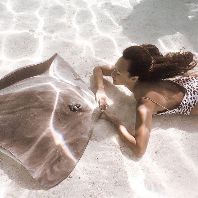 Очаровательная модель Рава Рэй по прозвищу «Королева скатов» (39 фото)