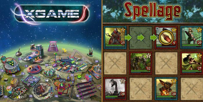 XGame-Online и Spellage - две замечательные онлайн игры с выводом денег, которые только открылись и Вы имеете шанс зарегистрироваться первым!