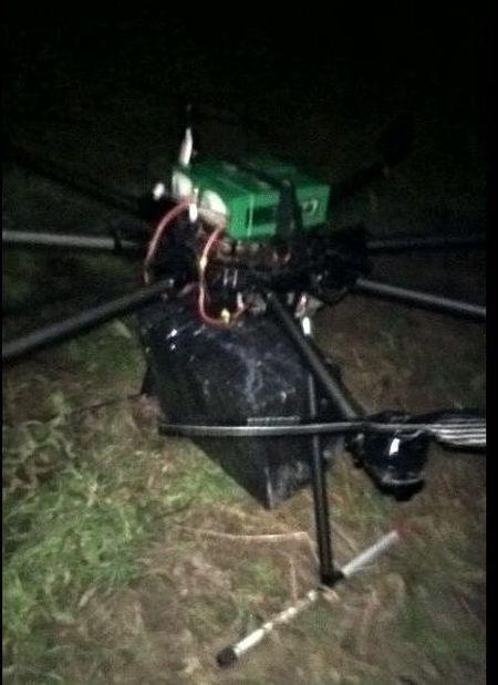 Украинец переправлял сигареты в Венгрию с помощью дрона (4 фото)