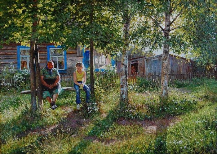 пейзажи фото деревенские