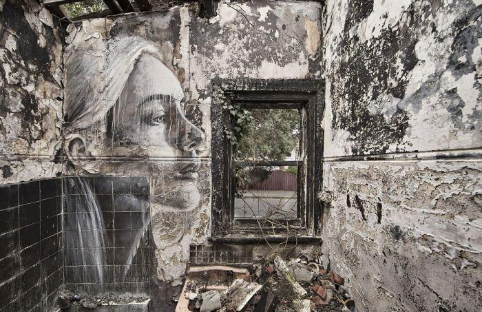 Tyrone Wright ve Terkedilmiş Binalarda Harika Resimler (11 Fotograf)