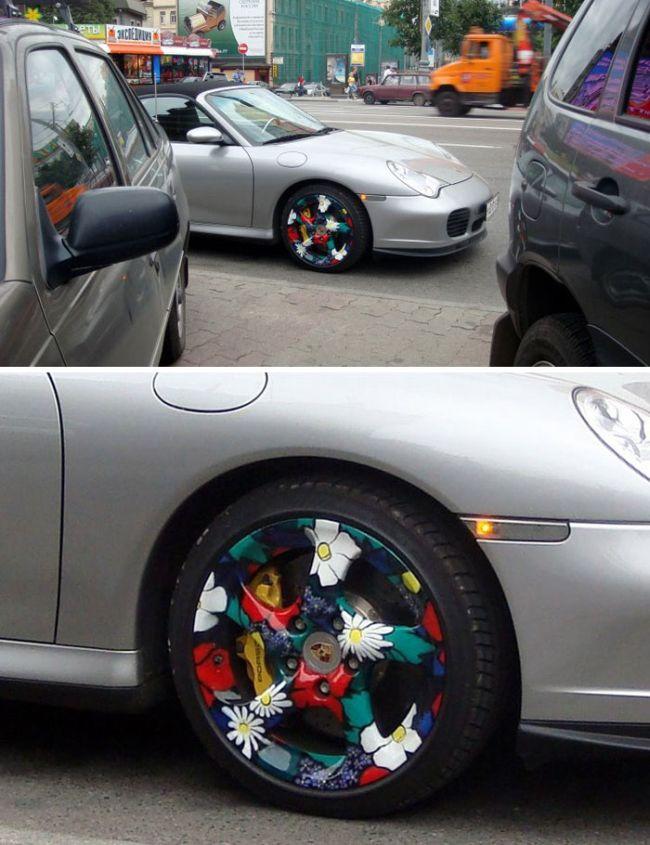 Креативные решения автомобилистов (54 фото)