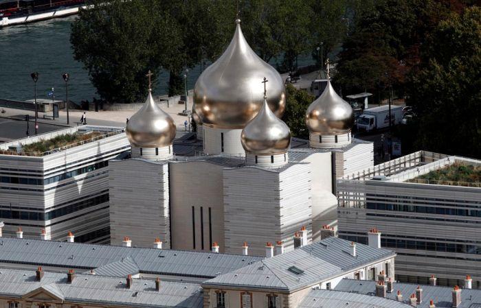 В Париже открылся российский духовно-культурный центр (4 фото)