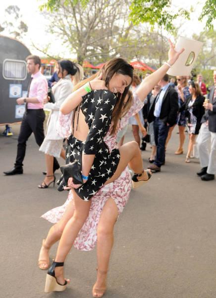 Австралийские скачки Geelong Cup (58 фото)