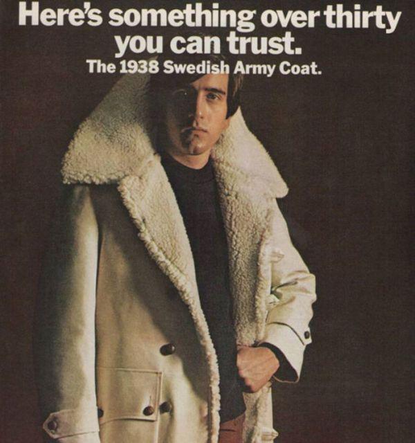 Незабываемая мужская мода 70-х (40 фото)