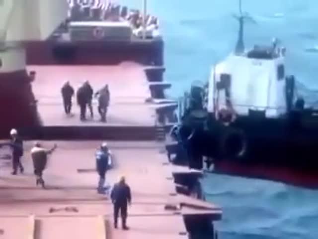 Погрузка судна пошла не по плану