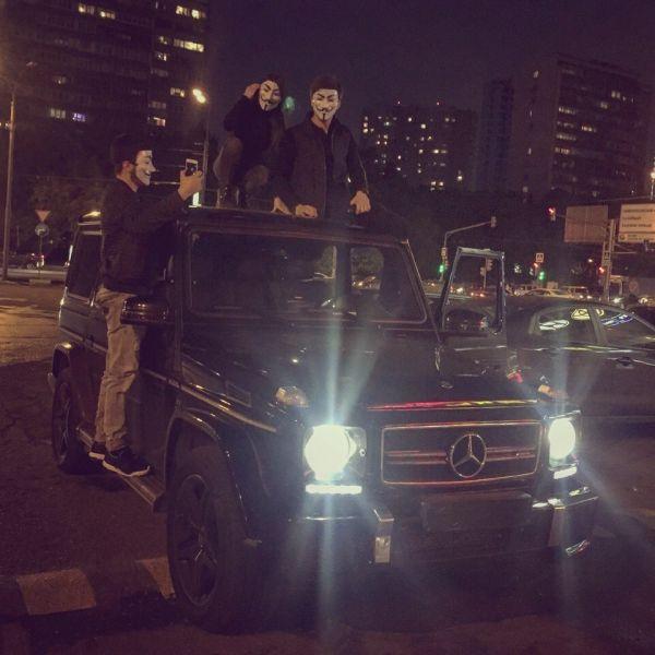 Руслан Шамсуаров и Мара Багдаcарян сообщили о вымогательстве взятки сотрудниками МВД (2 фото)