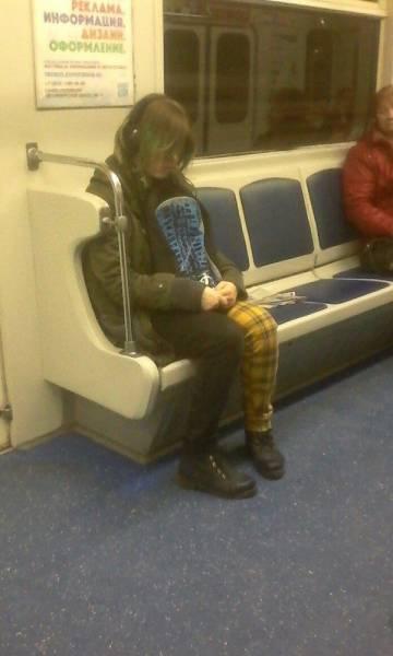 Чудаки из метро (26 фото)
