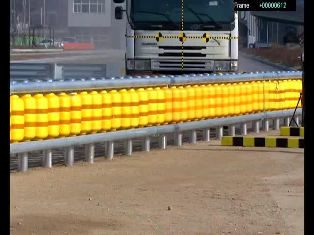В Южной Корее изобрели новые дорожные ограждения