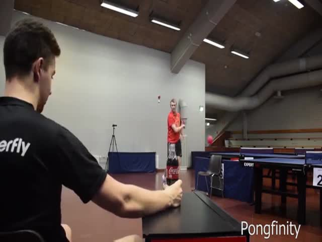 Трюки от мастеров пинг-понг