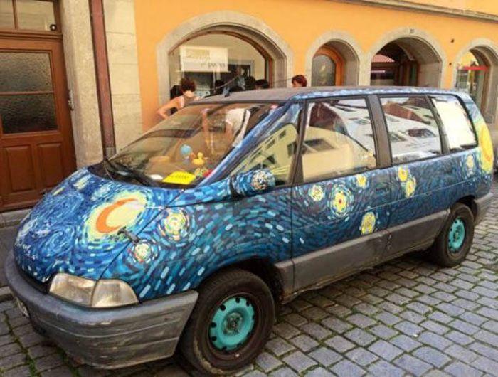 Очень странные автомобили (37 фото)
