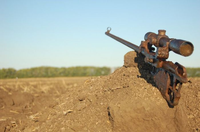 Последний бой снайпера, санитара и автоматчика на Миус-фронте (8 фото)