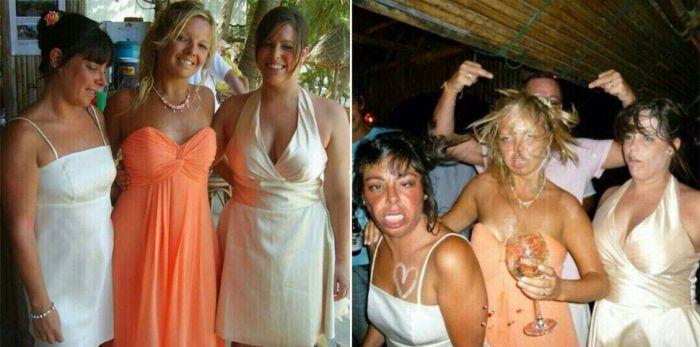 Интересные фото из серии «до и после» (12 фото)