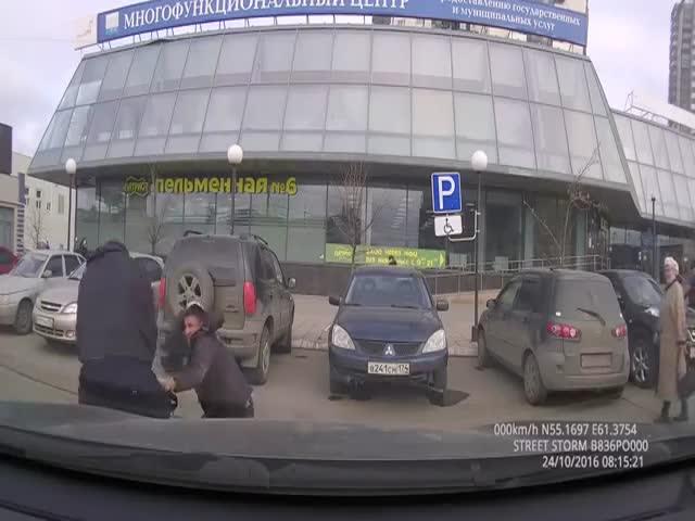 Разбойное нападение в центре Челябинска