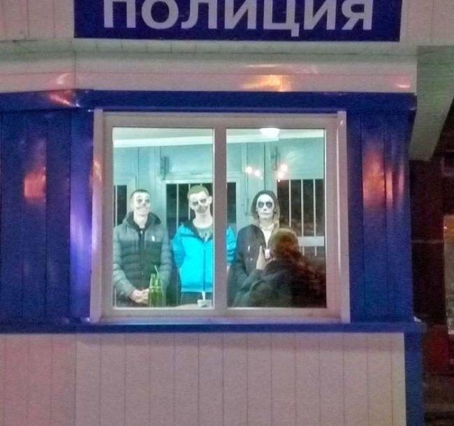 «Отряд самоубийц» по-кемеровски или Хэллоуин в России (фото)
