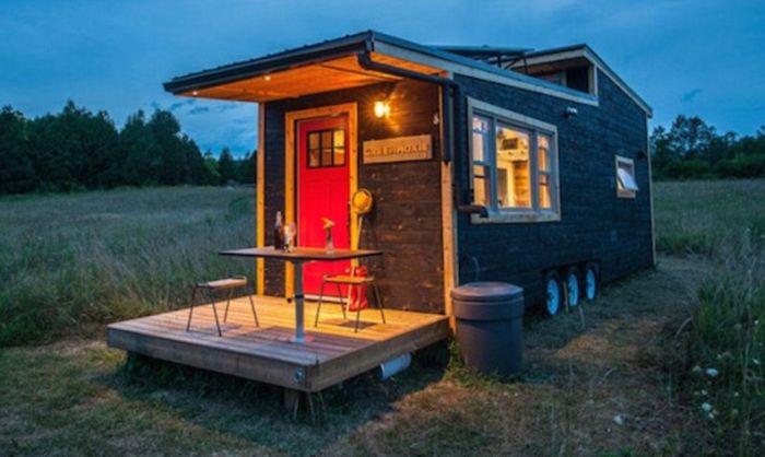 Дом для тех, кто не привык сидеть на месте (11 фото)