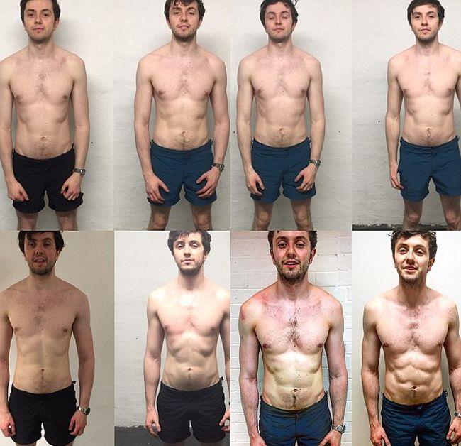 Британский банкир и его эксперимент над собственным телом (8 фото)