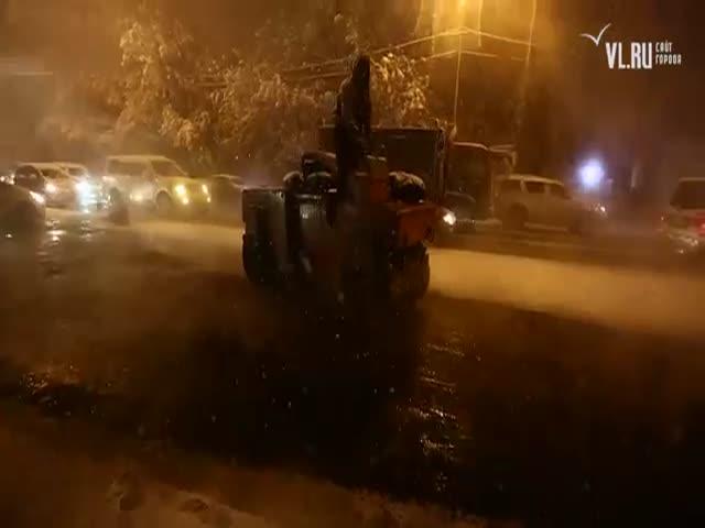 Укладка асфальта во Владивостоке