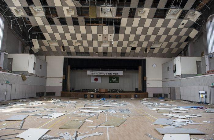 Как выглядит заброшенная Фукусима спустя 5,5 лет (16 фото)