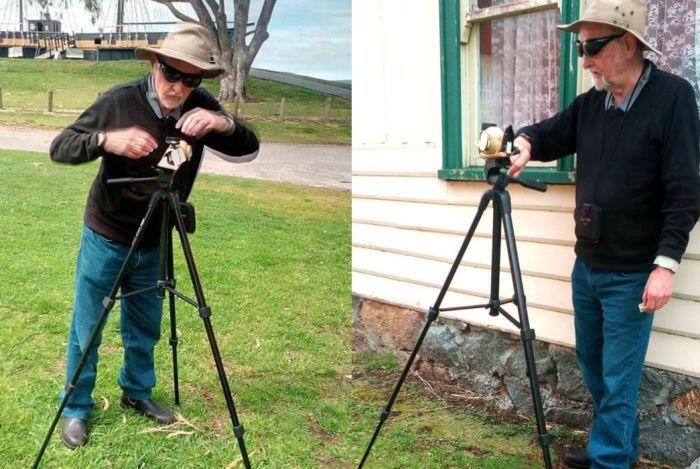 Австралиец собрал рабочую фотокамеру из картошки (6 фото)