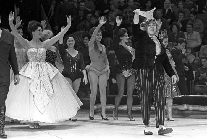 В возрасте 86 лет умер клоун Олег Попов (15 фото + видео)