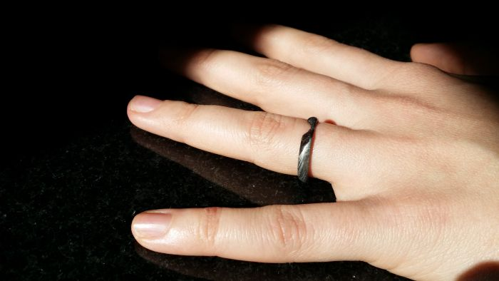 Кольцо из метеорита своими руками (18 фото)