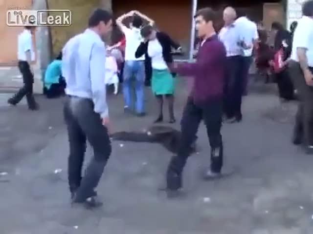 Трэш на дагестанской свадьбе