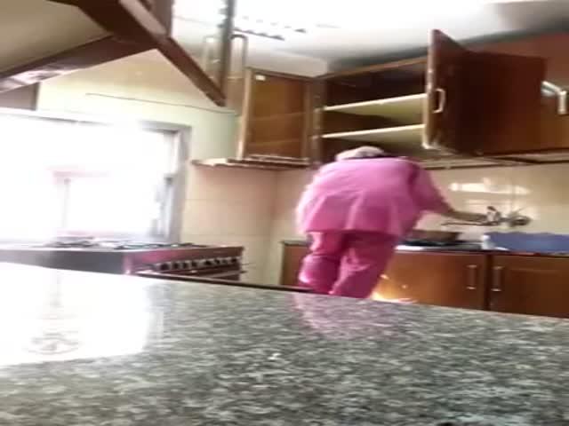 Влажная уборка кухни