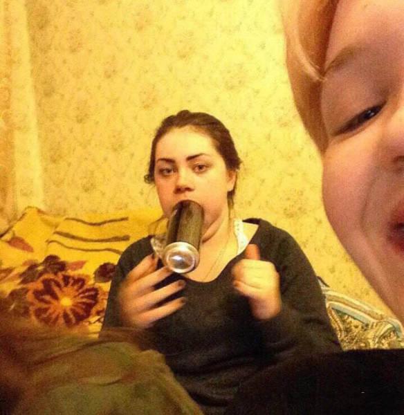 Девушки дурачатся (59 фото)