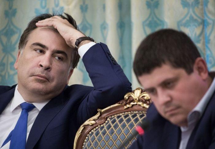 Губернатор Одесской области Михаил Саакашвили подал в отставку (2 фото)