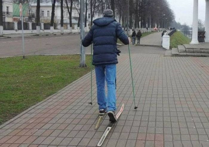 Фото, которые возможно было сделать только в России. Часть 44 (31 фото)
