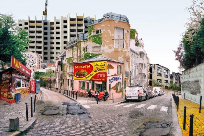 Как выглядели бы известные города Европы, если к ним относились, как к Самаре (4 фото)