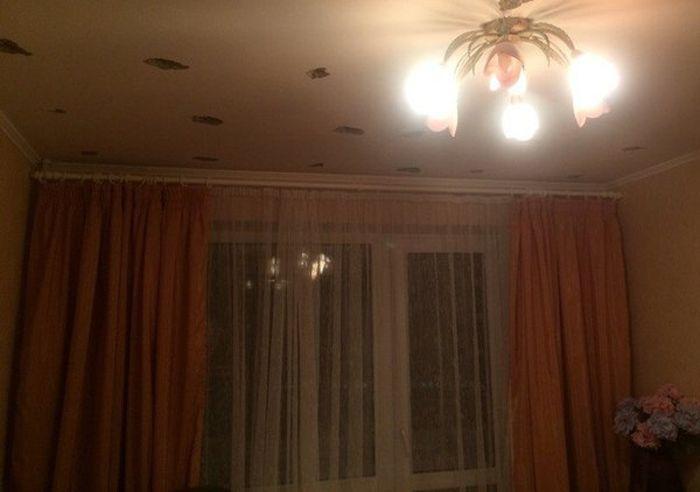Привет от соседа сверху (3 фото)