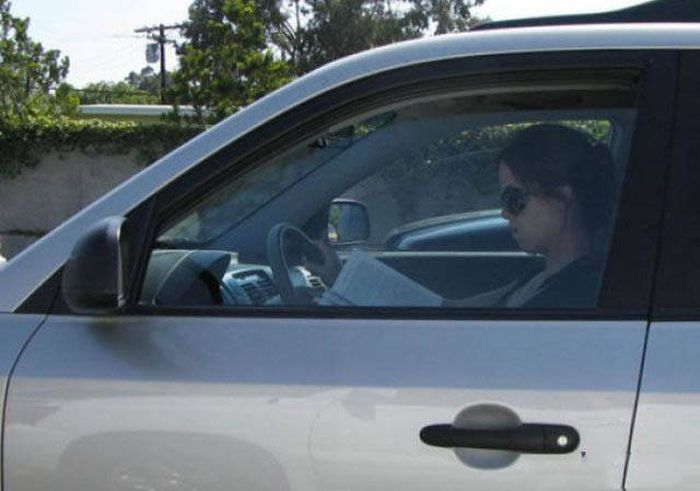 Минутка автомобильного юмора (40 фото)