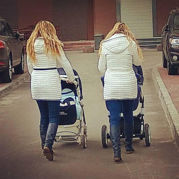 Фото, которые заставят вас поверить в клонирование человека (40 фото)