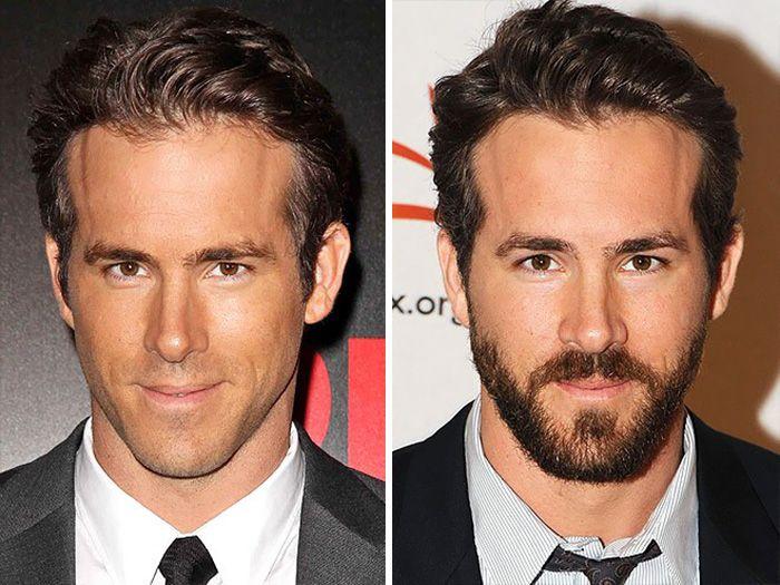 Знаменитости, которым идет борода (15 фото)