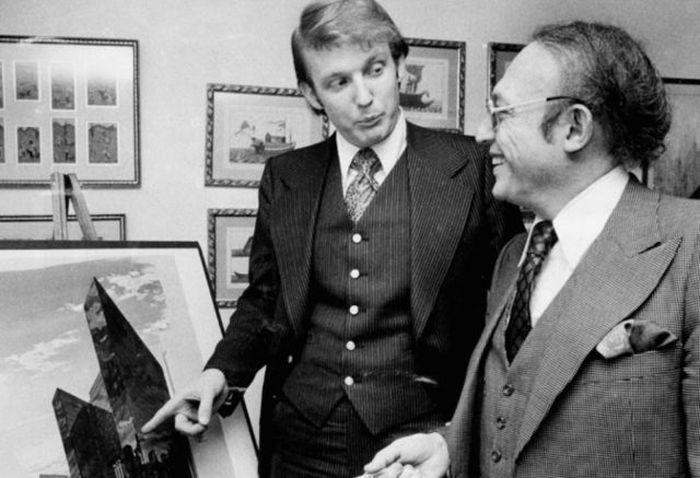 Как Дональд Трамп менялся с годами (18 фото)