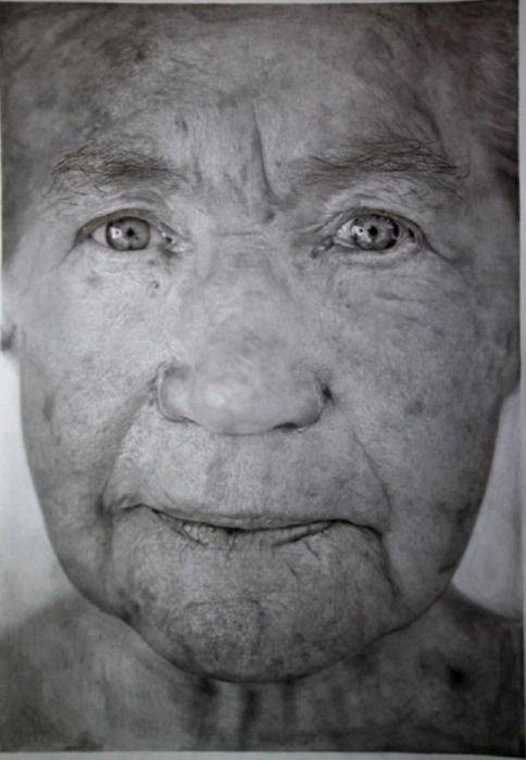 Невероятно реалистичные рисунки, похожие на фото (16 фото)