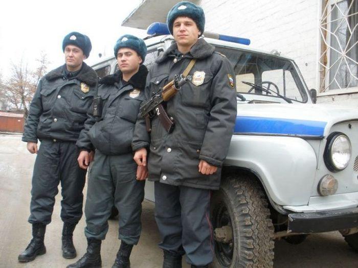 Ответственные полицейские (фото)