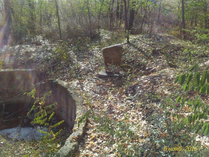 Забытый памятник мемориального комплекса Мамаев курган (6 фото)