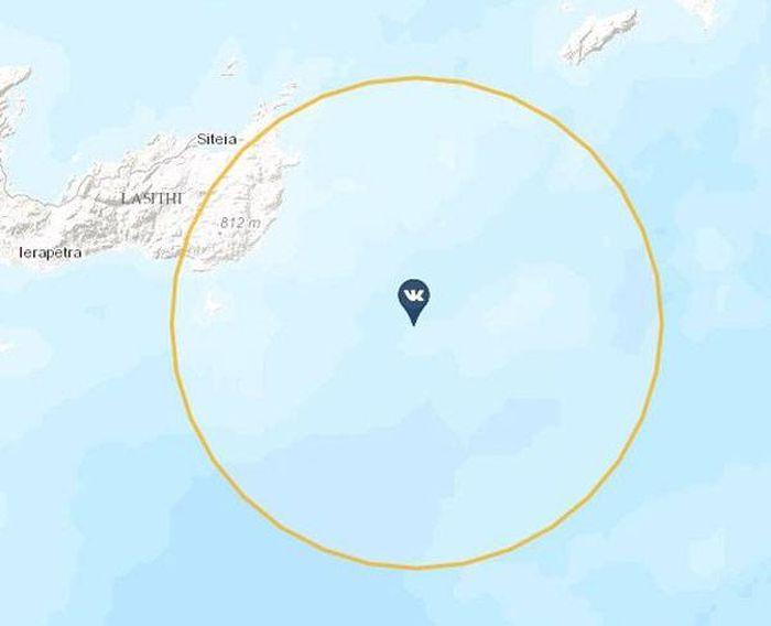 Селфи с борта «Петра Великого» помогло определить точные координаты судна (2 фото)