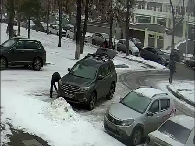 Охранник ЧОПа задержал вора