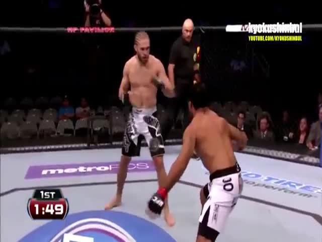Мгновенная карма в боях MMA