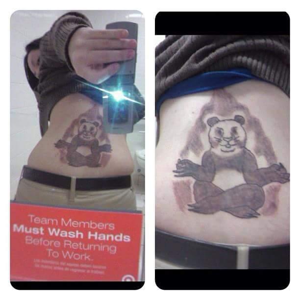 Неудачные татуировки (49 фото)