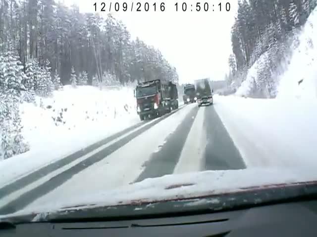 Водитель вовремя успел среагировать